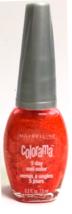 Maybelline Colorama Rare Nail  Polish Peach Daiquiri Orange 0.3 fl. oz 7... - $12.99