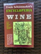 Frank Schoonmaker's Encyclopedia of Wine Fifth Edition HC 1973 - $13.99