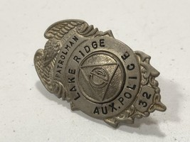Vintage Lake Ridge CIVIL DEFENSE Auxiliary Police Badge, Cold War Era, 1... - $99.99