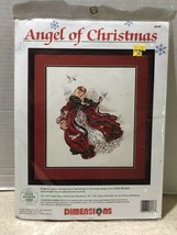 Angel of Christmas Counted Cross Stitch Kit #8436 Dimensions by Laine Go... - $28.05