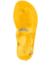 Michael Kors MK Premium Plate Jelly Thong Rubber T-Strap Shoes Sandals image 11