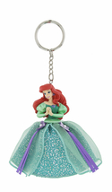 Disney Parks Ariel The Little Mermaid Gown Keychain NEW - $21.90