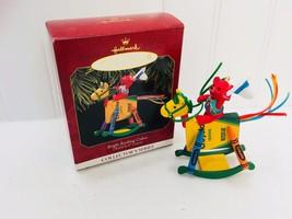 Hallmark Keepsake Ornament 1997 Crayola Crayon Bright Rocking Colors 224... - $9.64