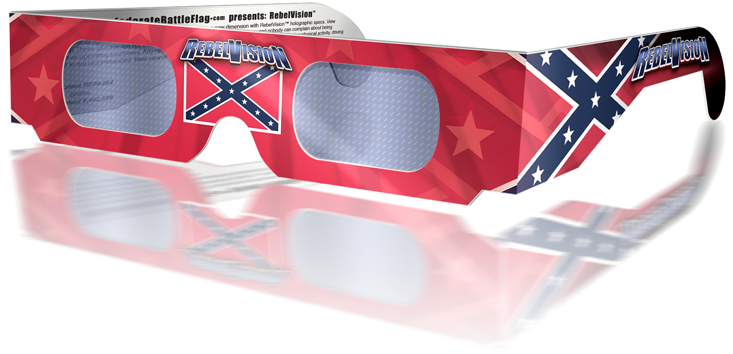 RebelVision Holographic Battle Flag specs - Outlaw