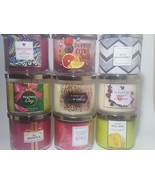 Bath and body works Candles 3 wick 14.5 oz NEW  ~~YOU CHOOSE~~ - $24.19+