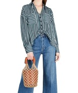 Free People Mad about You Stripe Shirt Blouse - $69.99