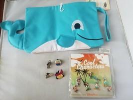 Disney Trading Pins Official Cool Characters + Bonus Summer Theme Swimsu... - $47.98
