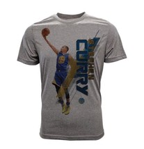 Youth Golden State Warriors Stephen Curry Fadeaway Grey T-Shirt / Size XL - $42.08