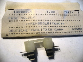 1  X9 X200  German Wurlitzer Jukebox LEFT HAND Top Side Glass #0020550229
