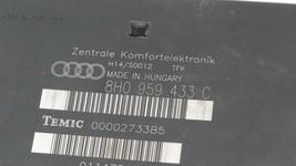 Audi A4 S4 Cabriolet Comfort Convenience Control Module Ccm 8h0959433C image 2