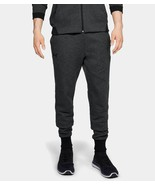 Under Armour Mens UA Unstoppable Double Knit Joggers 1320725-001 Black NWT - $42.87