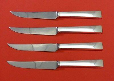 Continental by International Sterling Silver Steak Knife Set 4pc HHWS  Custom