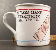 """Used Hallmark """"Nurses Make Everything All Better"""" 1985 Mug  - $5.00"""