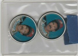 1988 Topps Coins Mike Schmidt Phillies Lot of 2 - $1.35