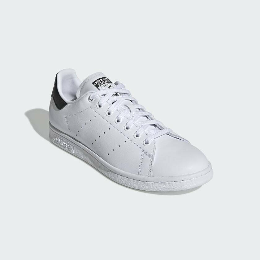 Adidas Originals Men's Leather Stan Smith Iconic White Sneakers EE5818 image 4