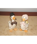 VINTAGE 60's ORIGINAL ARTMARK MR. & MRS GOOSE FAMILY DUCK FIGURINES - $17.82
