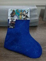 STAR WARS Blue Felt Christmas Stocking, 14 in. NEW - $13.67