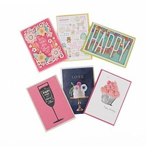 Hallmark Signature Lucite Card Organizer and All Occasion Greeting Card ... - $15.88