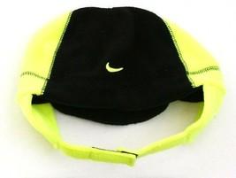 Nike Black & Volt Fleece Winter Hat Toddler 2-4T  NWT - $19.79