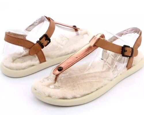 15b2ad105ab New Ugg Australia Lou Lou Sheepskin Sandal and 50 similar items