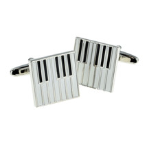 Enamelled Piano Keys, lapel pin/ tie tac etc, comes in gift box