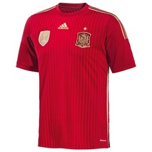 Adidas Authentic Spain Home Jersey World Cup 2014 - $69.29