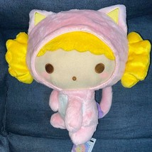 Little Twin Stars Lala Cat Costume BIG Plush Doll 12.6in Sanrio - $51.29