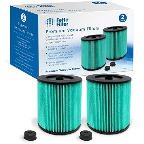 Fette Filter - 17912 & 9-17912 HEPA Vacuum Filter with High Efficiency Particle