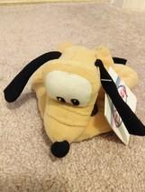 Pluto Beanie NWT Disney Plush Bean Bag Pluto the Dog The Disney Store Hang Tag - $8.00