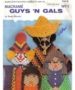 Macrame Guys 'N Gals - Vintage macrame book - Digital download in PDF Fo... - $3.50