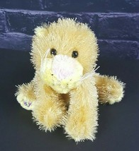 Webkinz Ganz Plush Lioness HS193 Yellow Cat Stuffed Animal #A11 - $8.90