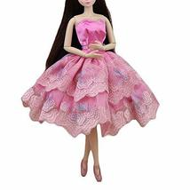 PANDA SUPERSTORE Accessory Toy Clothes Pink Doll Dress Doll Clothes Ballet Dress
