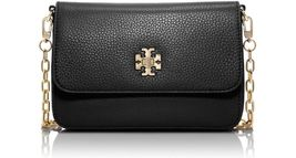Authentic TORY BURCH MERCER CHAIN CLASSIC CROSS BODY SHOULDER BAG BLACK - $270.00