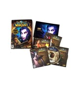 World Of Warcraft PC CD-ROM Game 4 Disk Set Strategy Game Teen Rate 10 D... - $28.04