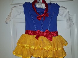 Disney Baby Princess Snow White 2 Piece Costume Bodysuit for Baby Sz 12 Mos - $19.99