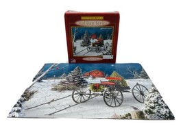 """"""" Midnight Singers"""" - Sparkles In Light Holiday Series 100 Pc Puzzle Com... - $10.88"""