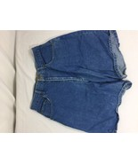 Outfitters Women Blue Shorts Size 6 100%cotton Soild Color Made In China... - $14.03