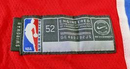 JOEL EMBIID / PHILADELPHIA 76ERS / AUTOGRAPHED 76ERS RED PRO STYLE JERSEY / COA image 7