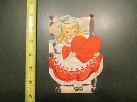 Valentine Vintage Card Hallmark Card For a Sweet little Girl - $5.99