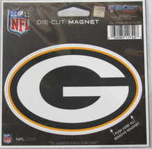 NFL NIB 4 INCH AUTO MAGNET - GREEN BAY PACKERS - LOGO - €8,45 EUR