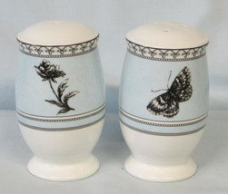 Charter Club Tuilleries Blue Floral Salt & Pepper Shakers - $30.58