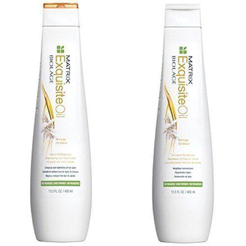 Matrix Biolage Exquisite Oil Shampoo 13.5oz and Cream Conditioner 13.5 Duo - $32.67