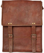 "New Men's 13"" Office Shoulder Rustic Soft Leather Travel Laptop Messenge... - $47.70"