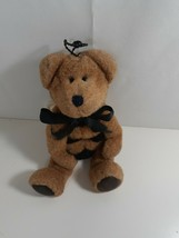 Boyds Bears Clover L Buzzoff Bumble Bee Bear 7 inch black bow - $9.90
