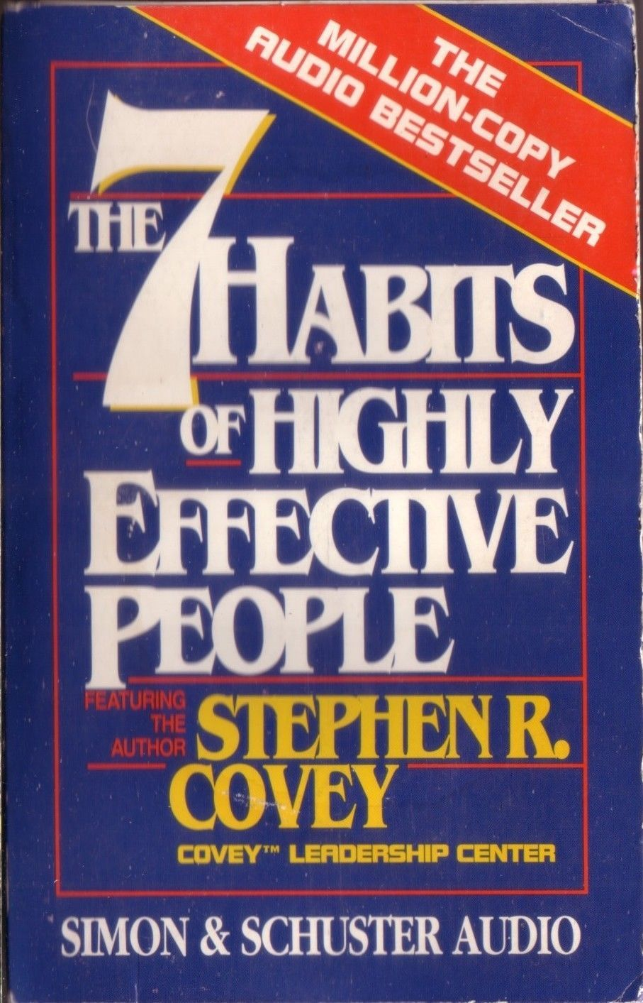 The 7 habits of highly effective people stephen covey 1989 cassette audiobook a