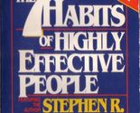 The 7 habits of highly effective people stephen covey 1989 cassette audiobook a thumb155 crop