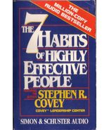 The 7 Habits of Highly Effective People Stephen Covey 1989 Cassette Audi... - $3.00