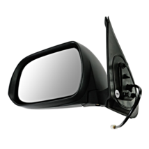 Fits 12-15 Toyota Tacoma Left Driver Mirror Power Unpainted Black Manual... - $75.19