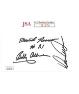 NASCAR Legends Bobby Allison/Donnie Allison/David Pearson signed 3x5 Ind... - $58.95