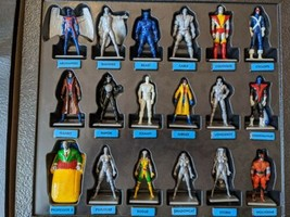 Lot of 18 The Uncanny X-Men Alert Adventure Board Game Hand Painted Figures - $56.09